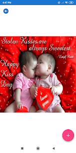 Kiss Day: Greeting, Wishes, Quotes, GIF 5