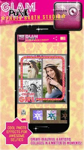 Glam Girl Photo Booth Studio screenshot 1