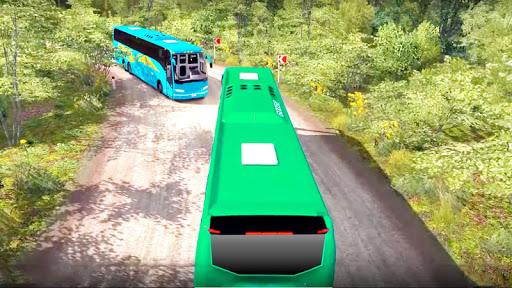 bus simulator : coach hill driving game 2019  screenshots 4