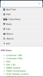 All in One Rail Info PNR Status Train Status - náhled