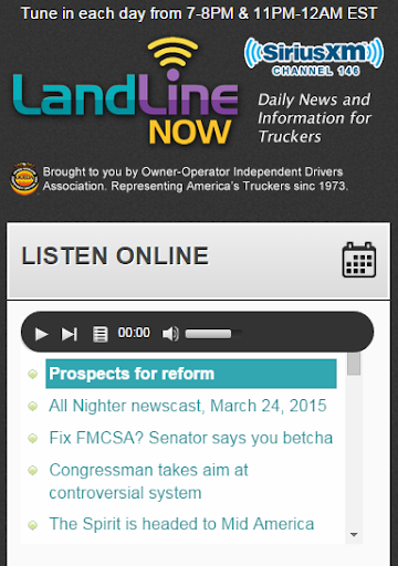 Land Line Now Mobile WebView