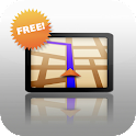 Free GPS Navigation Advice icon