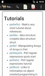 Perl Language Reference Guide - náhled