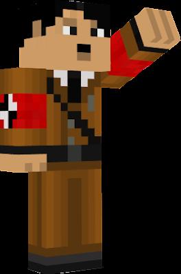 Hitler Nova Skin - Skins para minecraft pe hitler