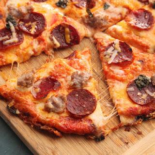 Pizzadilla (Quesadilla Pizza).
