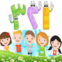 الارقام العربية للاطفال icon