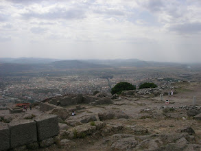 Photo: Akropolis'den Bergama Ovası - 26.09.2010