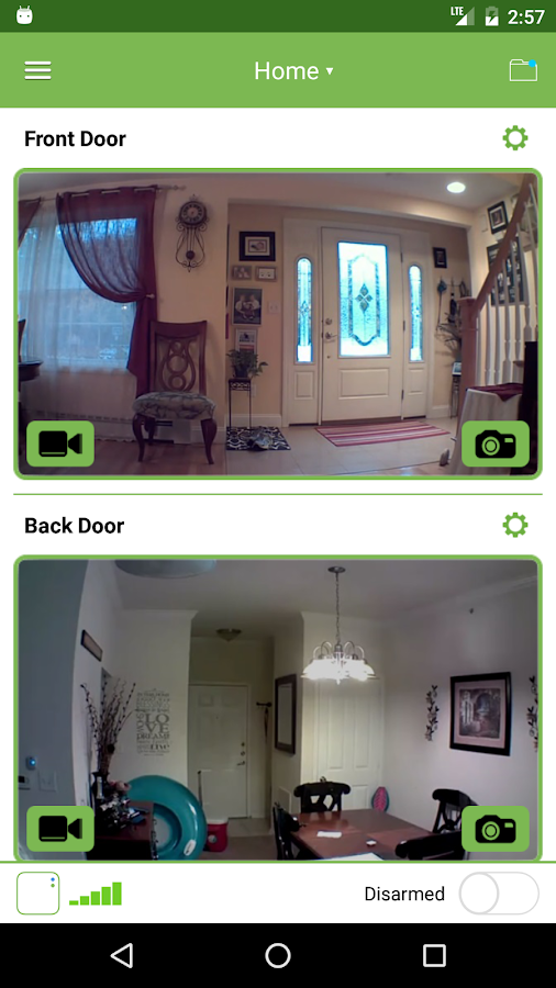 Blink Home Monitor for Android- screenshot