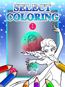 Ice Princess Coloring Pages 2