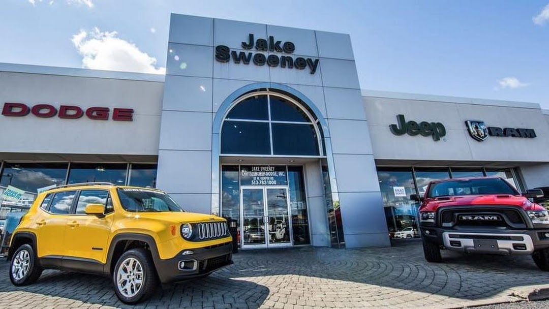 Jake Sweeney Dodge >> Jake Sweeney Chrysler Jeep Dodge Ram Car Dealer In Cincinnati
