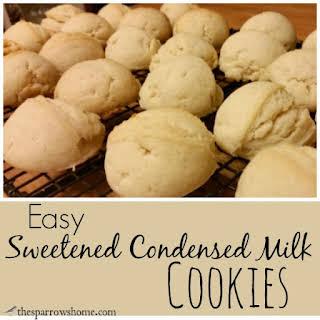Sweetened Condensed Milk Cookies.