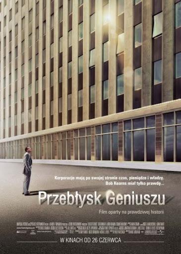 Polski plakat filmu 'Przebłysk Geniuszu'