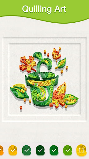 Paper Quilling Art: Color by Numbers 1.0 screenshots 1