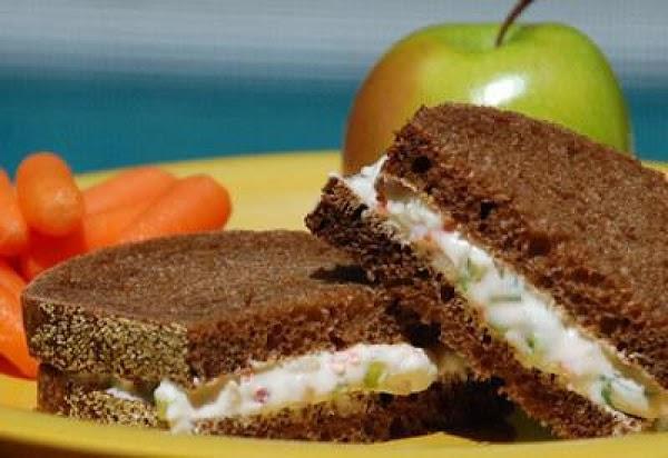 Creamy Vegetable Salad Sandwich Recipe