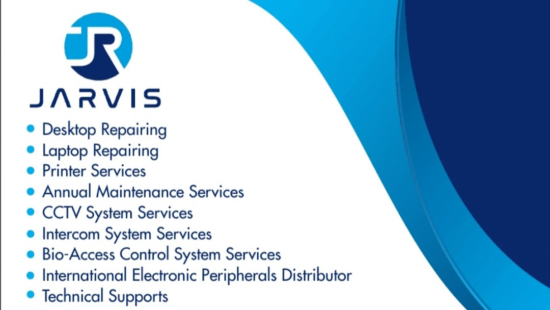 JARVIS - Desktop, Laptops, Printers, Software's,CCTV Systems