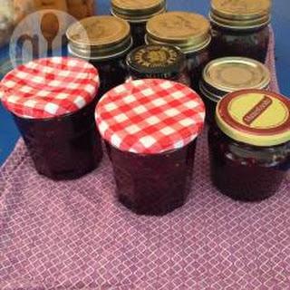 Easy Mulberry Jam.