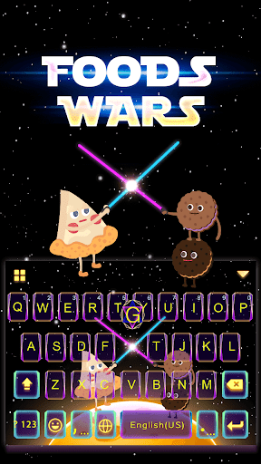Foods Wars Theme for iKeyboard