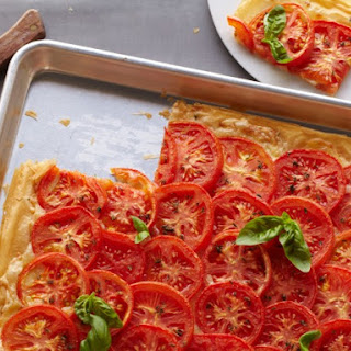 Tomato Cheese Tart.