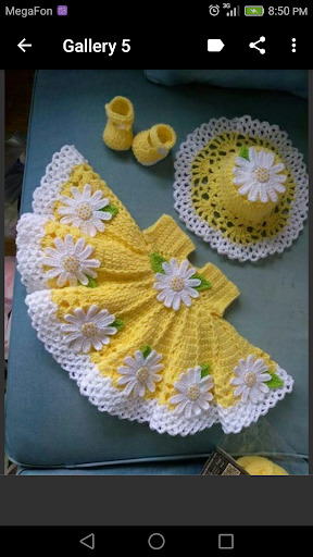 Crochet Baby Dress screenshot 3