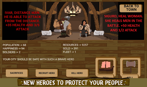 Télécharger The Last Vikings Kingdom: City Builder apk mod screenshots 5