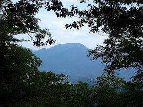 山頂からの展望(鹿島山と大鈴山)