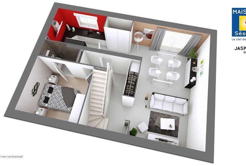 Vente Terrain + Maison - Terrain : 300m² - Maison : 100m² à Méry-sur-Oise (95540)