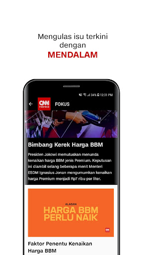CNN Indonesia - Berita Terkini 2.4.2 screenshots 3