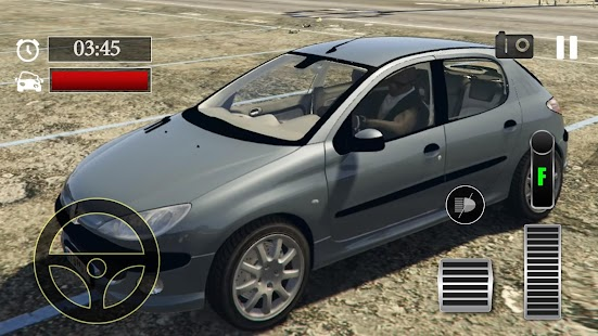 Car Parking Peugeot 206 Simulator - náhled