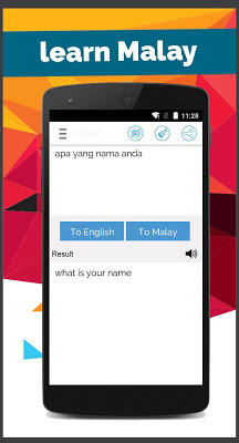 Malay English Translator - screenshot