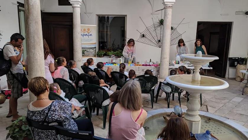 Actividad realizada tiempo atrás por la asociación 'Apafa' con sede en Vélez-Rubio.