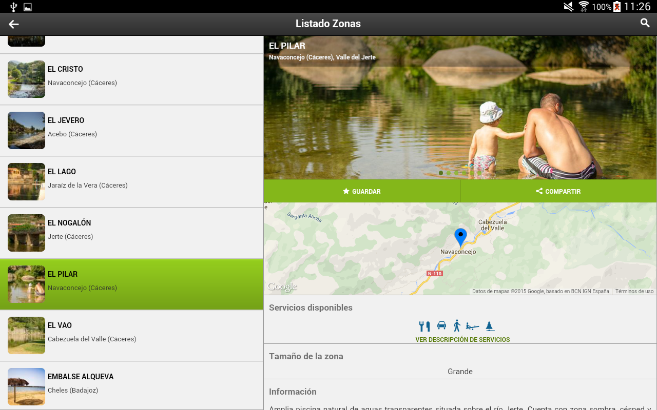 Extremadura es agua- screenshot