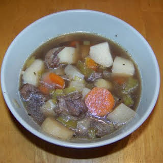 Hearty Oxtail Soup.