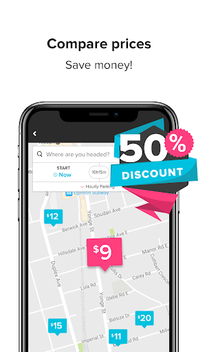 HonkMobile: Find & Pay for Parking screenshots 2