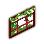 雪景色の窓