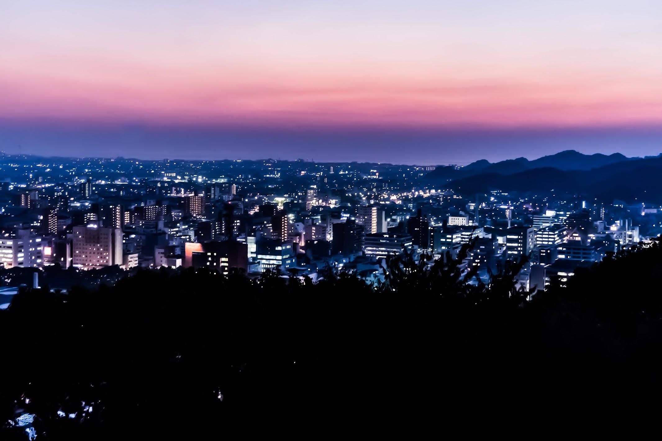 松山市 夜景