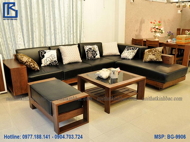 Bộ bàn ghế gỗ phòng khách BG-9906