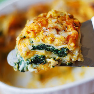 Butternut Squash and Spinach Lasagna Recipe