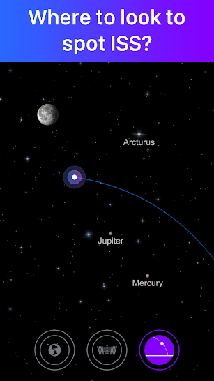 Satellite Tracker by Star Walk screenshot for Android