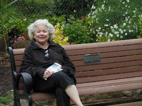 Photo: In Shakespeare Garden in Golden Gate Park