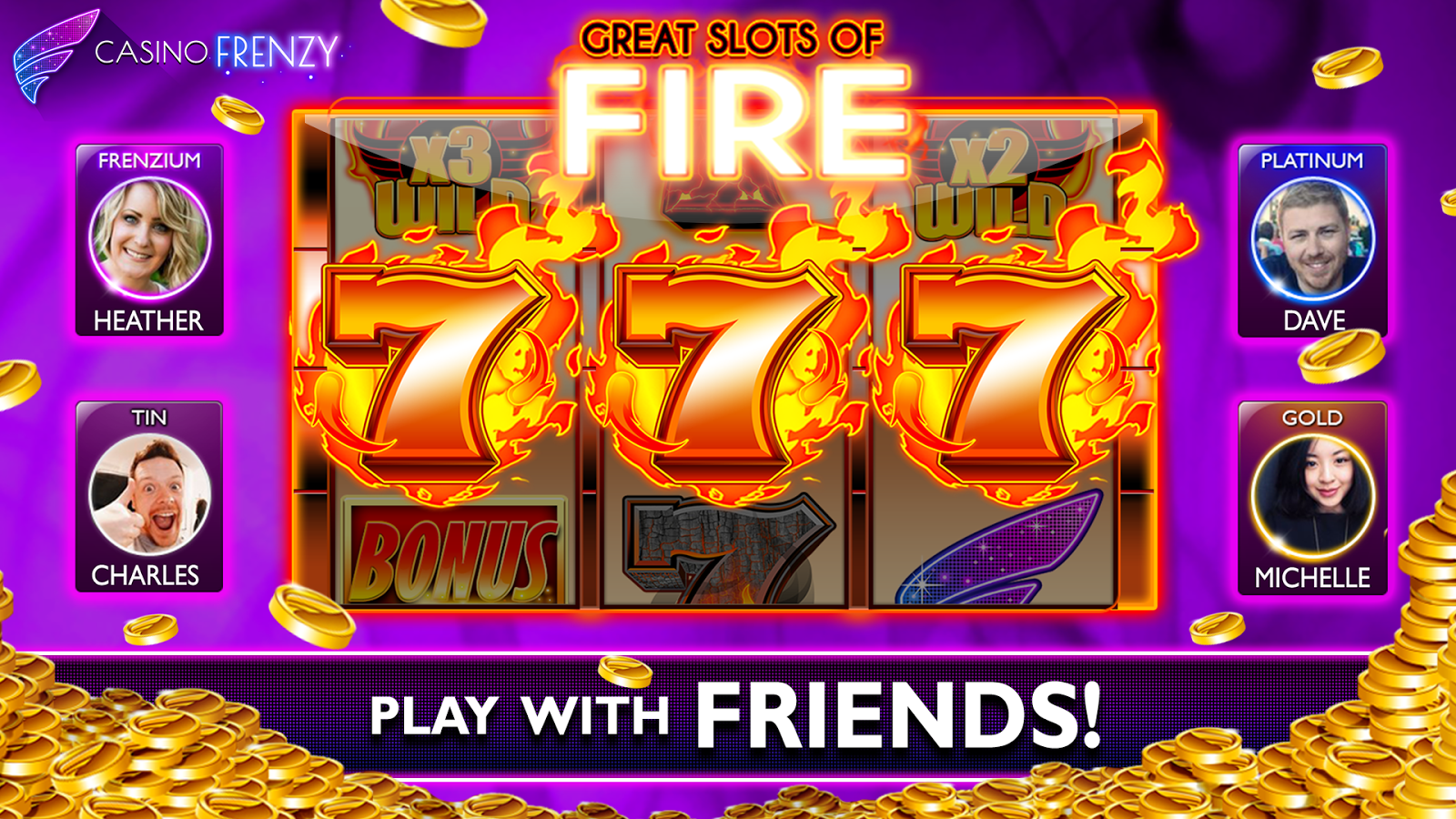 Casino Frenzy games for iPhone 2018
