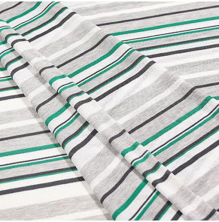 Rand Pikétrikå - vit/grå/grön