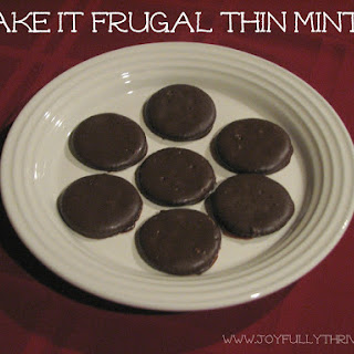 Fake It Frugal Thin Mints