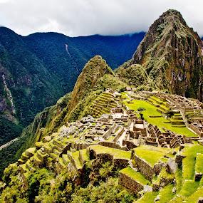 Machu Picchu by Dmitry Samsonov - Landscapes Travel ( canon, lost city, mountain, peru, latin america, machu picchu, inkas, south americaew,  )