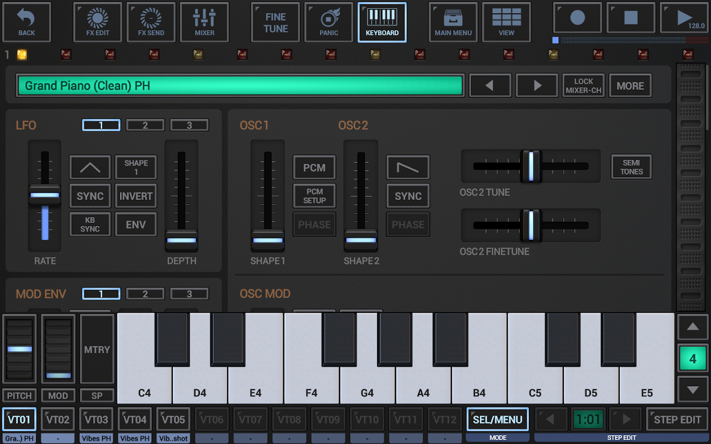 G-Stomper Studio DEMO- screenshot