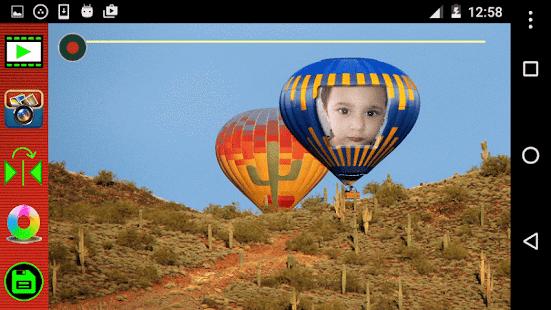 Hot Air Balloon Selfie - náhled