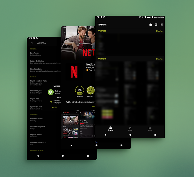 PitchBlack - Substratum Theme For Nougat/Oreo/Pie Screenshot 12