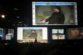 Photo: Saturday - Pacific Rim panel; director Guillermo Del Toro