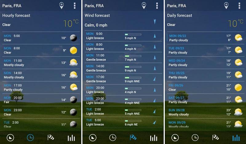 3D Flip Clock & Weather Pro Screenshot 9