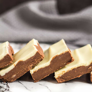 No-Bake White Chocolate Nutella Bars.