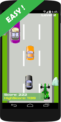 Simple Car Race